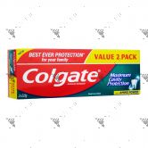 Colgate Toothpaste 2x225g Fresh Cool Mint