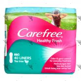 Carefree Healthy Fresh 40s Tea Tree