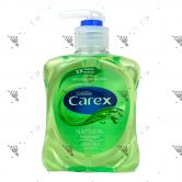 Carex Antibacterial Handwash Pump 250ml Aloe Vera Green
