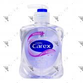 Carex Antibacterial Handwash Pump 250ml Sensitive Purple