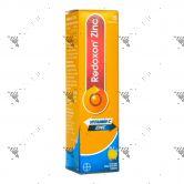 Redoxon Vitamin C+ Zinc Effervescent Tablets 15s Orange