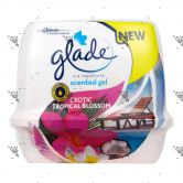 Glade Scented Gel 180g Exotic Tropical Blossom