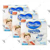 MamyPoko Royal Soft Tape Diaper Large 62S (1Carton=3packs)