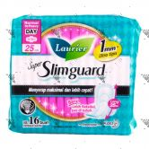 Laurier Super Slimguard Heavy Day 25cm Wing 16S