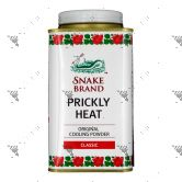 Snake Brand Prickly Heat Cooling Powder 140g Classic