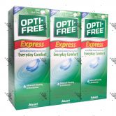 Opti-Free 3x355ml Disinfecting Solution Express