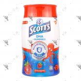 Scott's DHA Gummies 60s Strawberry