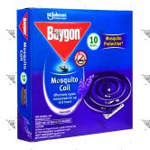 Baygon Mosquito Coil 125g 10s Lavender