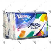 Kleenex Ultrasoft Soft Pack 4x50s Floral