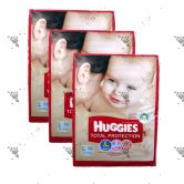 Huggies Total Protection Diapers L56s (1Carton=3pack)