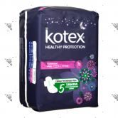 Kotex Soft & Smooth Overnight Wing 28cm 14s Cotton