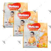 Huggies Gold Diapers Medium 66S (1Carton=3pack)