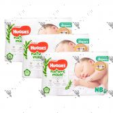 Huggies Platinum Nature Made Diapers Newborn 60s (1Carton=3packs)