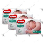 Huggies Platinum Diapers Newborn 60s (1Carton=3pack)