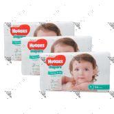 Huggies Platinum Diapers Large 54s (1Carton=3pack)