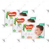 Huggies Platinum Nature Made Diapers XL 44s (1Carton=3packs)