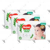 Huggies Platinum Nature Made Diapers S 70s (1Carton=3packs)