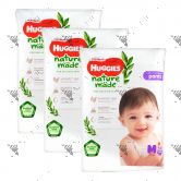 Huggies Platinum Nature Made Pants M 58s(1Carton=3pack)