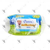 Pureen Baby Wipes 2x30s Anti-Bacterial