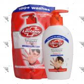 Lifebuoy Handwash Total10 190ml + Refill 185ml Set