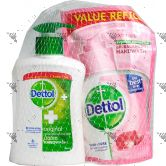 Dettol Hand Soap 200ml Original + Refill 175ml Skin Care