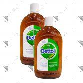 Dettol Antiseptic Liquid (550mlx2)