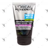 L'oreal Men Expert Pure & Matte Charcoal Black Scrub Deep Action 100ml