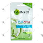 Garnier Pure Active Matcha Deep Clean Clay Mask 2x6ml