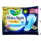 Laurier Relax Night with Gathers 35cm Winged 8S