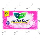 Laurier Active Day Super Maxi 30s