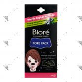 Biore Female Pore Pack Black 4s