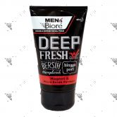 Biore Men Double Scrub Facial Foam Deep Fresh 100g