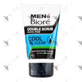 Biore Men Facial Foam Cool Oil Clear 100g