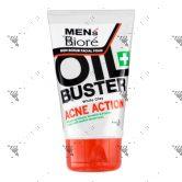 Biore Men Facial Foam Acne Action 100g