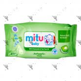 Mitu Baby Antiseptic Wipes 50s Chamomile & Tea Tree Oil