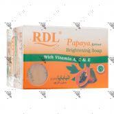RDL Papaya Brightening Soap 2x135g Pack with Vitamin A,C&E