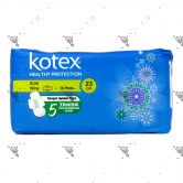 Kotex Soft and Smooth Slim Wing 23cm 16s