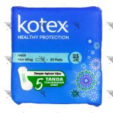 Kotex Soft & Smooth Maxi 23cm 20s