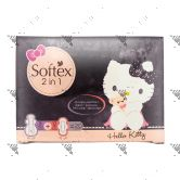Softex HelloKitty 2-in-1 Night 8s + Day 12s