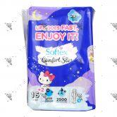 Softex Comfort Slim 29cm Long Wing 16s Hello Kitty