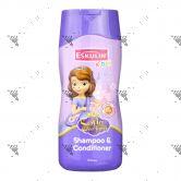 Eskulin Disney Shampoo & Conditioner 200ml Sofia The First