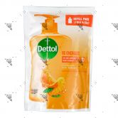 Dettol Hand Soap Refill 200g Re-Energize