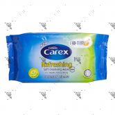 Carex Refreshing Soft Cleansing Wipes 50s