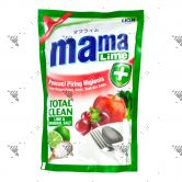 Mama Lemon Dishwashing 780ml Refill Total Clean AntiBacterial