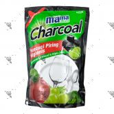 Mama Lemon Dishwashing 800ml Refill Charcoal Lime