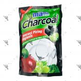 Mama Lemon Dishwashing 780ml Refill Charcoal Lime