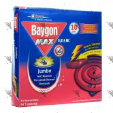 Baygon Mosquito Coil 10s Fresh Scent