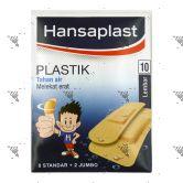 Hansaplast Plastic 10s