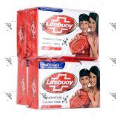 Lifebuoy Anti-Bacterial Soap 85gx4 (Total 10)