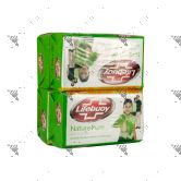 Lifebuoy Anti-Bacterial Soap 85gx4 (Nature Pure)